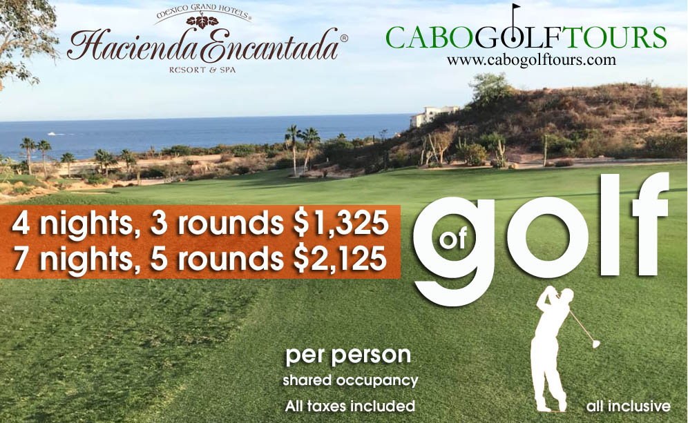 Hacienda Encantada Cabo golf Package