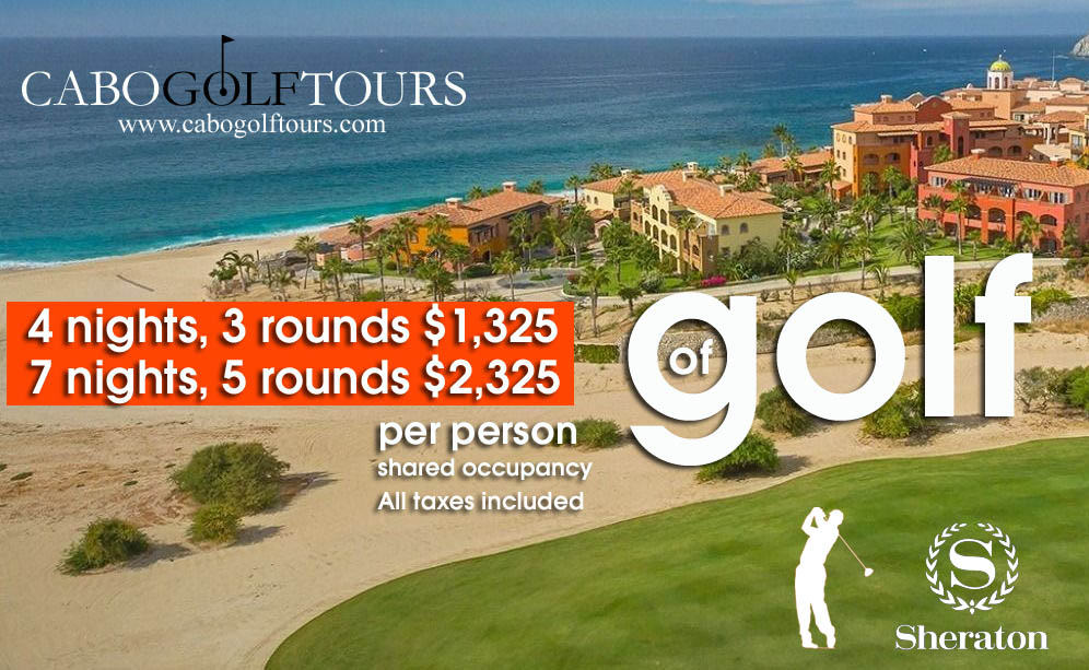 Cabo Sheraton Golf Package